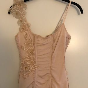 BEBE Corset Cami with Flower details